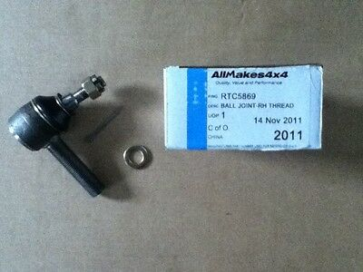 Land rover Defender Discovery Track rod/ drag link end Right Hand Thread RTC5869