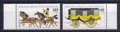 1985 West Germany Stamp Exhibition MOPHILA Set (SG 2104/2105) MNH