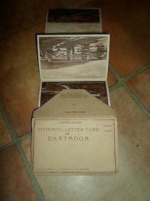 Pictorial Letter Card of DARTMOOR Printed+Published by F Frith ~ 6 Views