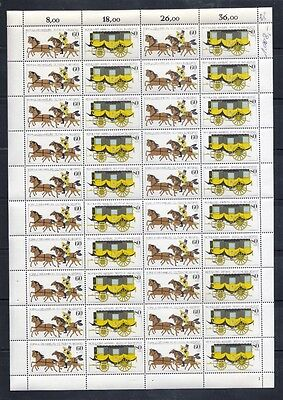 1985 West Germany Stamp Exhibition MOPHILA Compl. Sheet