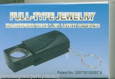 Jeweler's Loupe 30 Power 30X21MM  LIGHTED