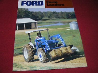 Ford Tractor Farm Loaders Dealer's Brochure AD-6080