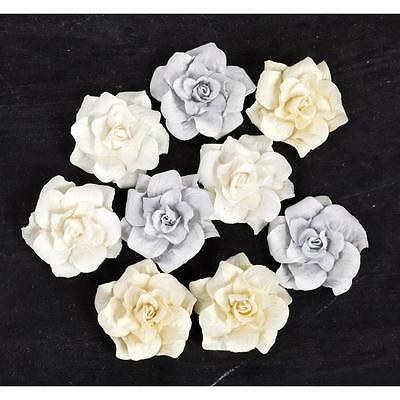 PRIMA Frost ~Gypsy~ Paper Flowers Roses 565770