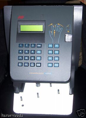 Hand Punch 4000 Biometric Clock W/ Ethernet RSI HP-4000 ADP