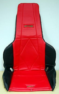 New RCI #8443B High Back Vinyl Seat Cover, Red