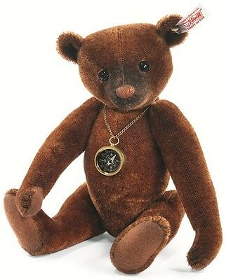 Steiff Nando Russet Tipped Mohair Jointed Teddy Bear 30cm Limited Ed 035166 New