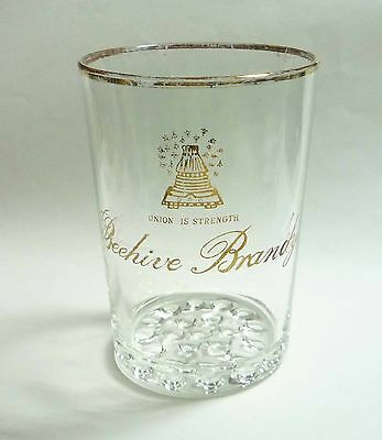 """REMY MARTIN Champagne VSOP COGNAC Vintage Short CLEAR CUP GLASS 3/"""" MALAYSIA RARE"""