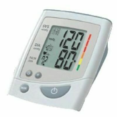 Automatic Inflation Upper Arm Blood Pressure Monitor with Irregular Heartbeat De