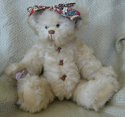 Annette Funicello Jointed Teddy Bear Collectible Bear Co Plush Stuffed Tags EUC