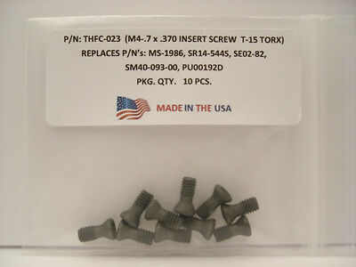 10 Pieces THFC-023 Insert Screw: MS-1986 .. SR14-544S .. SE02-82 .. SM40-093-20