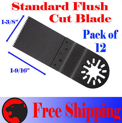12 Fine Cut Oscillating Multi Tool Saw Blade For Bosch Dremel Fein Multimaster