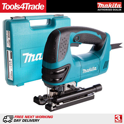 Makita 4350FCT Orbital Action Jigsaw 720W with Job light corded &Carry Case 240V