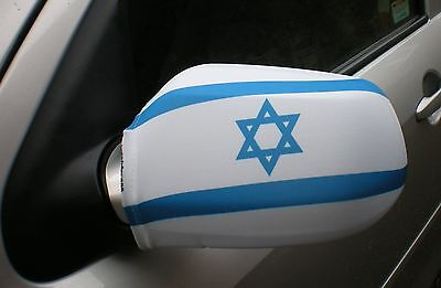 Car Wing Mirror Socks Flags, Covers, Flag-Ups! - Israel