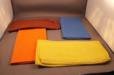 Original Servietten Set 60er Jahre bunt 60s real vintage napkin set Rockabilly