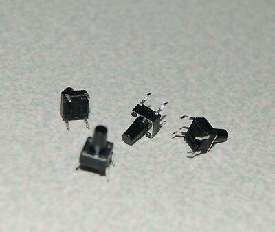 10pcs 6x6x9mm Tactile Tact Push Button Micro Switch Momentary