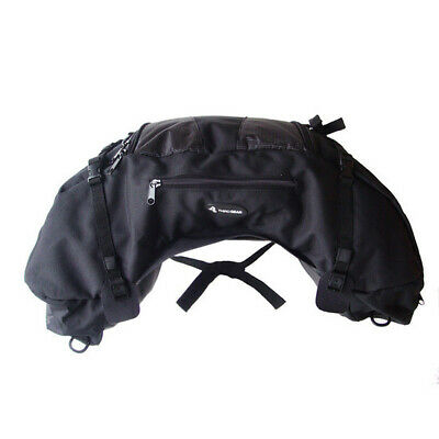 Third Gear Adventurer Motorcycle Touring Rear Pillion Seat Tail Bag Luggage