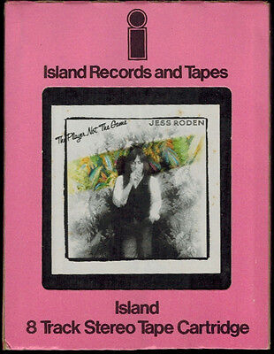 JESS RODEN The Player Not the Game '77 8 Track Tape in Box NM-
