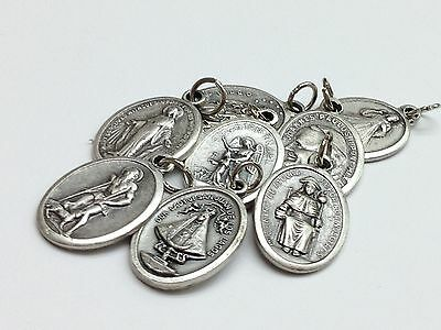 Religious medals are his favorite saint for protection and devotion