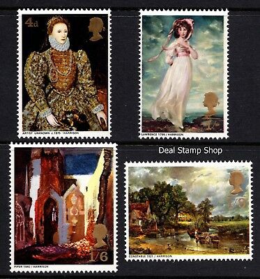 GB 1968 British Paintings SG771-4 Complete Set Unmounted Mint - FREEPOST -