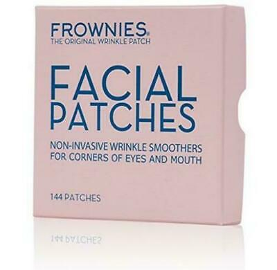 FROWNIES Wrinkle Remover Facial Pads Corners Of Eyes &Mouth 144patches Authentic