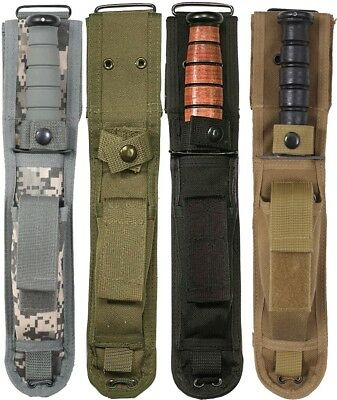 Camouflage Enhanced Knife Sheath Tactical Cover 7""