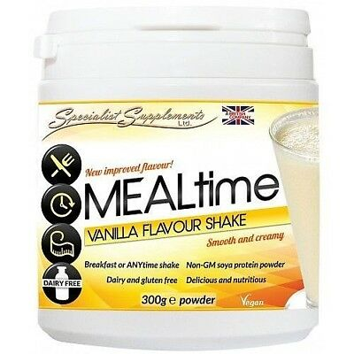 MEALtime meal replacement dairy free NON-GM protein powder shake drink (300g)
