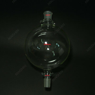 2L Chromatography Reservoir Flask,upward and downward are 24/29 joint