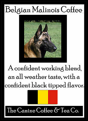 Belgian Malinois   Tea -   gourmet   tea   in collectible tin