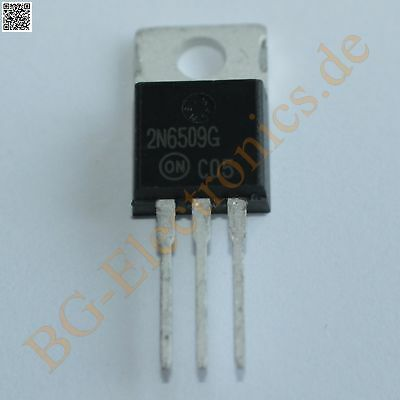 1 x 2N6509G SILICON CONTROLLED RECTIFIER Thyristors ON-Semi TO-220 1pcs