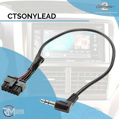 Connects2 Sony CTSONYLEAD Stalk Steering Control Adaptor Patch Lead