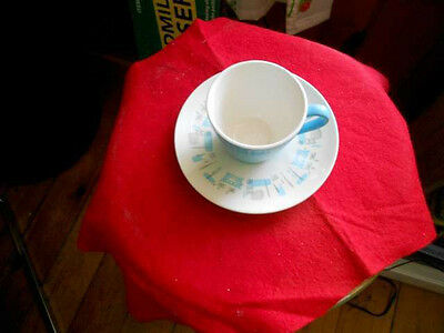 Royal China  Blue Heaven Cup & Saucer Made in USA
