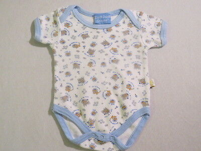 Duck Duck Goose King of the Crib Lion Rattle Crown Star White Bodysuit, 0-3 mos.