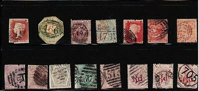 Lot of early great britain  Victoria stamps High CV