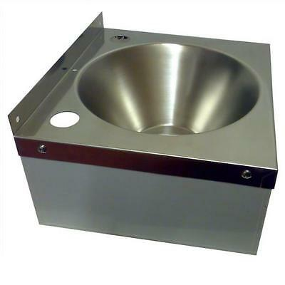 Stainless Steel HAND WASH BASIN Sink with Waste and Plug Included NO TAPS