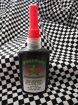 WoodwardRaceProducts WRP Threadlocker  High Strength Red Permanent Adhesive
