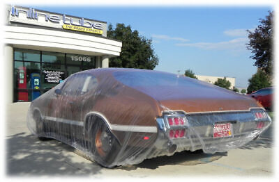 OLDSMOBILE 442 W-30 BUICK GS GN  plastic car cover, dust cover, rain cover 10 PC
