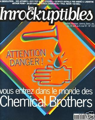 Les Inrockuptibles #102 -CHEMICAL BROTHERS- Iggy Pop...