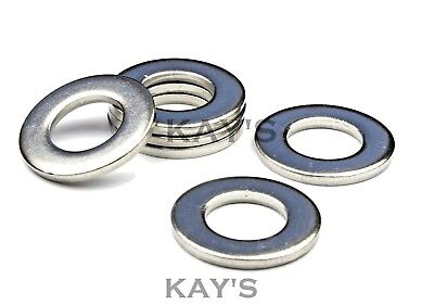 Form A Thick Washers To Fit Our Bolts & Screws A4 Marine Grade Stainless Steel