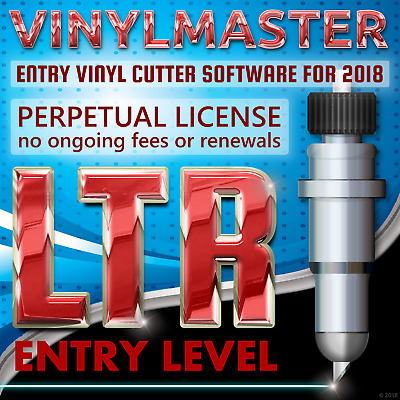 VinylMaster Ltr ideal Print & Cut Software for Outlining Images Decals TShirts