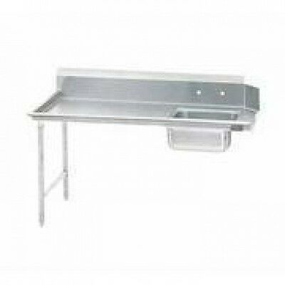 "Kti 36"" Right Side Stainless Steel Soiled Dish Table"