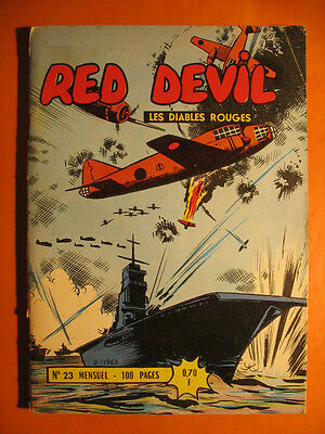 RED DEVIL  - Les Diables Rouges N° 23 du  03/1963  - Editions Remparts