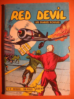 RED DEVIL - Les Diables Rouges  N° 7 du  11/1961  - Editions Remparts