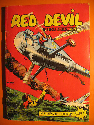 RED DEVIL - Les Diables Rouges  N° 8 du  12/1961  - Editions Remparts