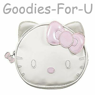 Hello Kitty Sephora Makeup/Cosmetic Bag  Pearly White & Pink NWT Limited Edition
