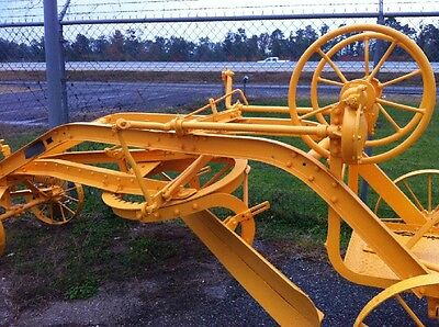 1938 Caterpillar Road Grader Hi-Way Patrol, In Very Good Working Condition