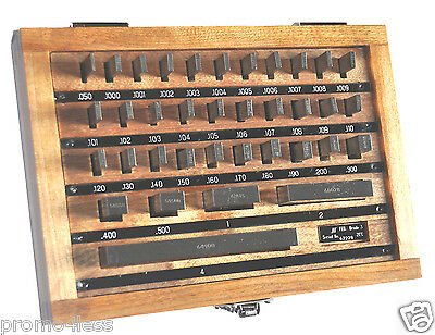 Precision Gage Block 36 pc Set Grade 3 Chuan Brand Mfg 1956 Direct Free shipping
