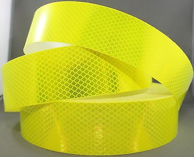3M Fluoro Yellow Green (4083) Diamond Grade Class 1 Reflective Tape 50mm x 10m