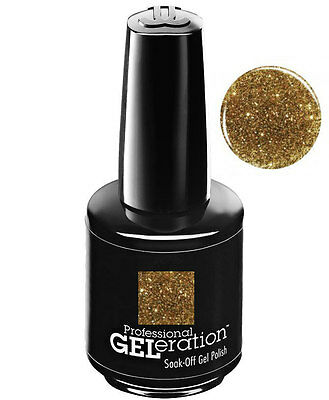 Jessica Geleration UV Gel Polish Golden Goddess - .5 fl oz GEL962