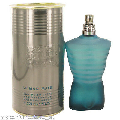 LE MALE 200ml EDT SPRAY FOR MEN BY JEAN PAUL GAULTIER -------------- NEW PERFUME