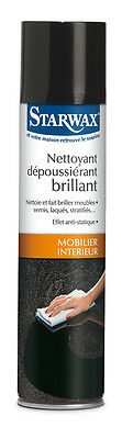 STARWAX NETTOYANT DEPOUSSIERANT BRILLANT SPRAY 400 ML ref 49